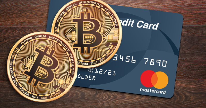 bitcoin and credit card