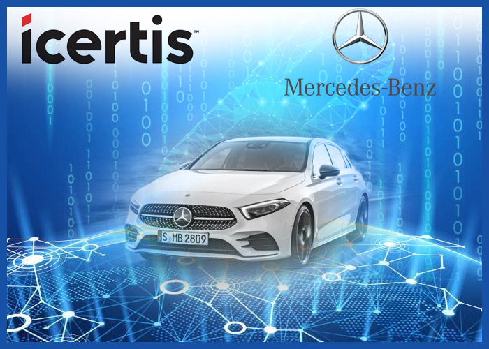 mercedes-benz using blockchain
