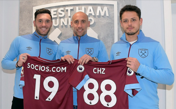 West Ham United Luncurkan Token FTOs