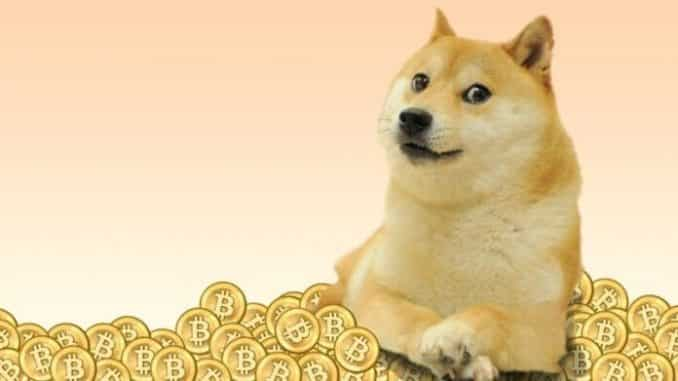 doge coin us$ 1